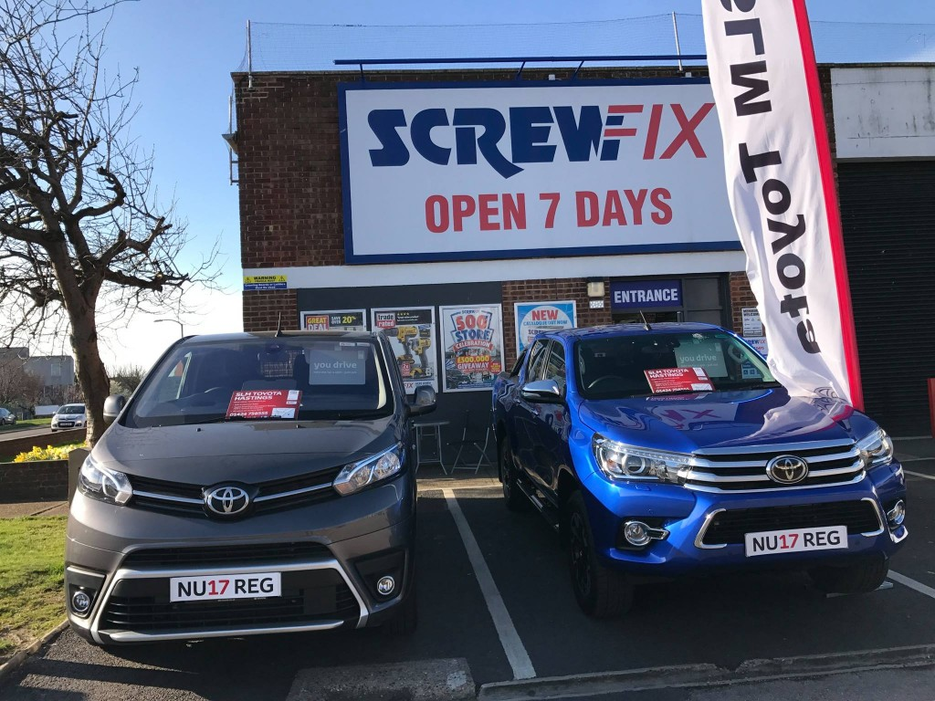 Family Members Purchase Three New Aygos From SLM Toyota Hastings